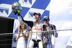 Podium: race winner Cal Crutchlow, Team LCR Honda