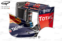 Formula 1 Photos - Red Bull RB12 rear wing, Sochi