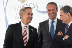 Miguel Angel Mancera, Mexico City mayor, Carlos Slim Domit