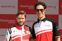 Formula E Photos - Nick Heidfeld and Bruno Senna, Mahindra Racing
