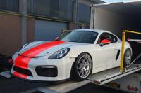 GT Italiano Foto - Dinamic Motorsport, Porsche Cayman GT4