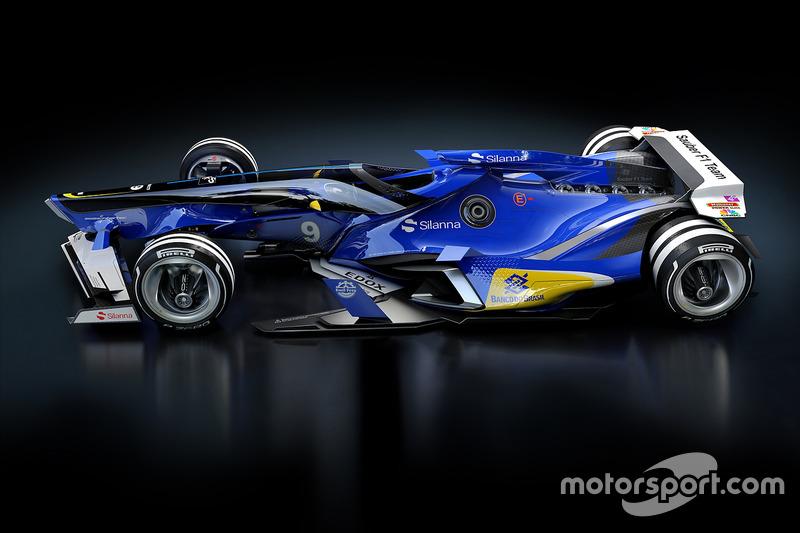 Sauber 2030 fantasy design