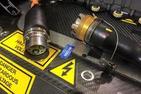 Formula E Photos - 2016-2017 Venturi car detail in the assembly factory
