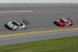 #14 Ferrari of Newport Beach Ferrari 458: Brent Lawrence, #24 Ferrari of Long Island Ferrari 458: Caesar Bacarella