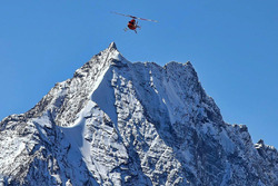 Emergency evacuation helicopter