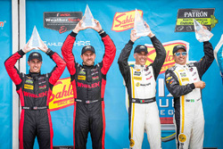 Race winners Joao Barbosa, Christian Fittipaldi, Action Express Racing, second place Eric Curran, Dane Cameron, Action Express Racing