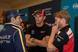 Nicolas Prost, Renault e.Dams, Stéphane Sarrazin, Venturi, Nick Heidfeld, Mahindra Racing