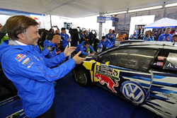 Andreas Mikkelsen, Anders Jäger, Volkswagen Polo WRC, Volkswagen Motorsport with Jost Capito, Volkswagen Motorsport Director