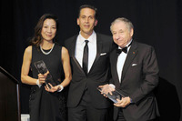 General Photos - FIA President Jean Todt and his wife Michelle Yeoh accept the Humanitarian of the Year Award from the United Nations Association of New York