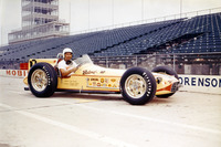 IndyCar Photos - Race winner Jimmy Bryan