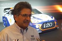WRC Foto - Michel Nandan, team principal Hyundai Motorsport