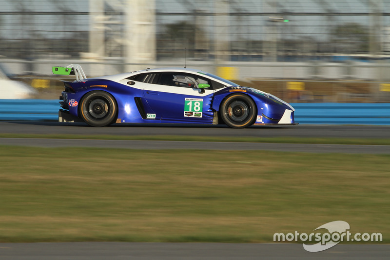 18 dac motorsports lamborghini huracan gt3 at daytona january testing. Black Bedroom Furniture Sets. Home Design Ideas