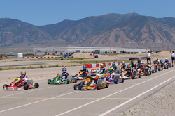 Kyle Kirkwood and Nick Neri on front row in Shifter