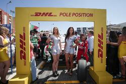 Pole position for Tiago Monteiro, Honda Racing Team JAS, Honda Civic WTCC