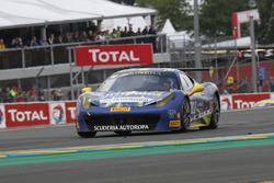 #10 Scuderia Autoropa Ferrari 458 Challenge Evo: Henrik Hedman