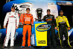 Championship 4: Timothy Peters, Red Horse Racing Toyota, Christopher Bell, Kyle Busch Motorsports Toyota, Johnny Sauter, GMS Racing Chevrolet, Matt Crafton, ThorSport Racing Toyota