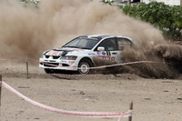 Indian Rally Photos - IRC class winner Abhilash PG, Srikanth Gowda