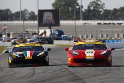 #178 Ferrari of Newport Beach Ferrari 458: Al Hegyi, #113 Ferrari of San Francisco Ferrari 458: Geoff Palermo
