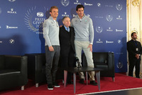 General Photos - Nico Rosberg, Mercedes AMG F1, Jean Todt, FIA President and Toto Wolff, Mercedes AMG F1 Shareholder and Executive Director