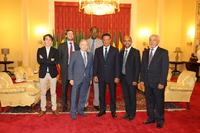 Автомобили Фото - Президент FIA Жан Тодт и Президент Эфиопии Мулату Тешоме