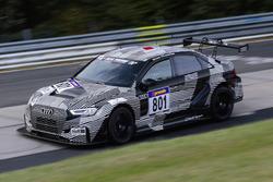 #801 Phoenix Racing, Audi RS 3 LMS: Jordi Gené, Kelvin van der Linde