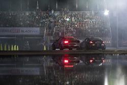Vaughn Gittin Jr., Ford Mustang, Chris Forsberg, Nissan 370Z