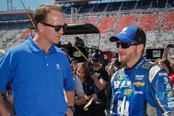 Dale Earnhardt Jr., Hendrick Motorsports Chevrolet and Peyton Manning