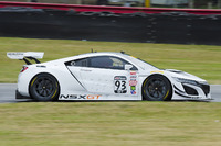PWC Photos - Peter Kox drives the new Acura NSX GT3