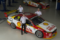 V8 Supercars Photos - Scott Pye, Fabian Coulthard, and Dick Johnson