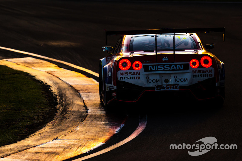 2. #1 Nissan Motorsports Nissan GT-R Nismo GT3: Rick Kelly, Katsumasa Chiyo, Florian Strauss