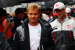 Ніко Росберг, Mercedes AMG F1 на параді пілотів