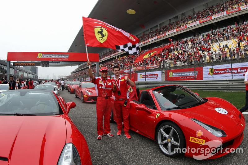 Ferrari car owner