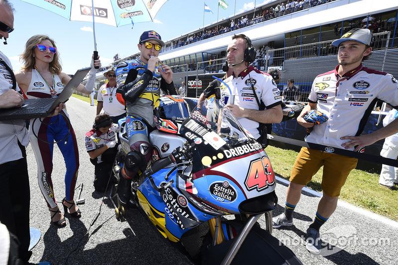 Jack Miller, Marc VDS Racing Honda on the grid