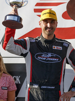 Podium: third place Fabian Coulthard, Team Penske Ford