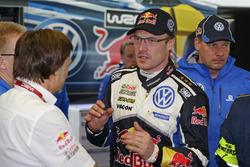 Jost Capito, Volkswagen Motorsport Director and Jari-Matti Latvala, Volkswagen Polo WRC, Volkswagen Motorsport