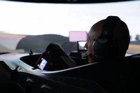 WEC Photos - Fabien Barthez in the simulator