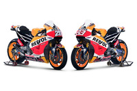 MotoGP Photos - Honda RC213V of Dani Pedrosa, Repsol Honda Team and Marc Marquez, Repsol Honda Team