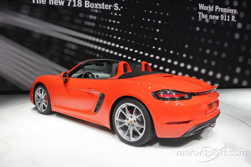Porsche 118 Boxster S At Geneva International Auto Show