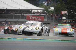 #89 Proton Competition Porsche 911 RSR: Gunnar Jeannette, Leh Keen, Marc Miller