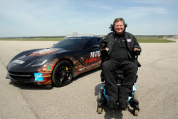 Sam Schmidt and the ARROW Chevrolet Corvette