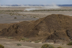 Landscape during the Silk Way Rally
