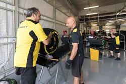 Renault F1 garage