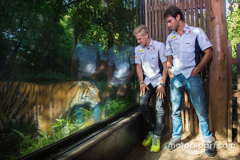 Felipe Nasr, Sauber and Marcus Ericsson, Sauber
