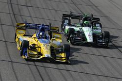 Marco Andretti, Andretti Autosport Honda, Conor Daly, Dale Coyne Racing Honda