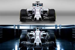 Williams FW37 and FW38 comparison