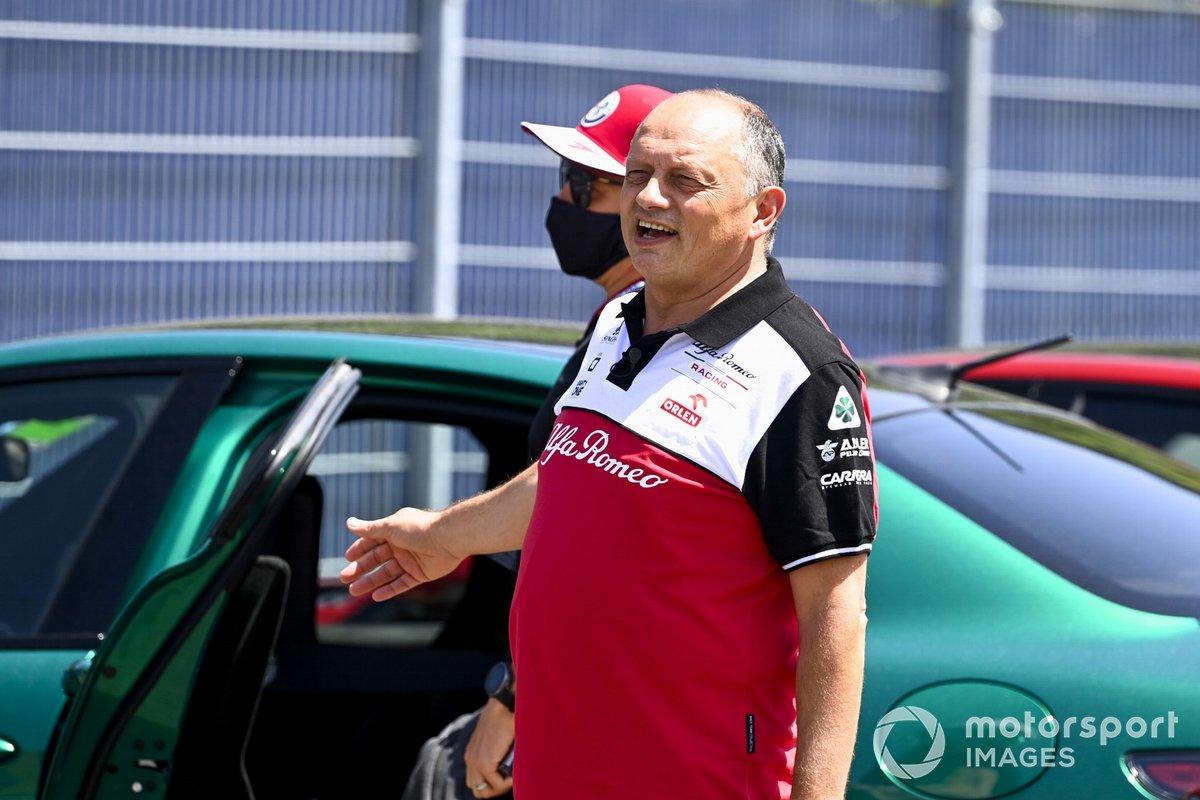 Frederic Vasseur, Team Principal, Alfa Romeo Racing