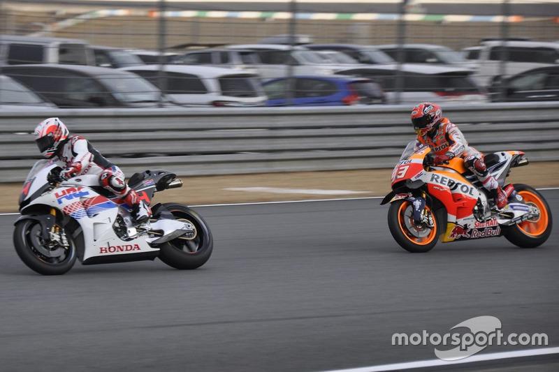 フェルナンド・アロンソとマルク・マルケス(Fernando Alonso & Marc Marquez)