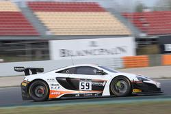 #59 Garage 59 McLaren 650S GT3: Martin Plowman, Andrew Watson
