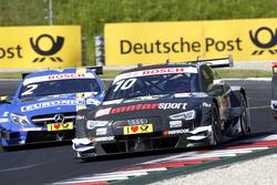 Timo Scheider, Audi Sport Team Phoenix, Audi RS 5 DTM and Gary Paffett, Mercedes-AMG Team ART, Mercedes-AMG C63 DTM
