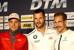 Press Conference, Jamie Green, Audi Sport Team Rosberg, Audi RS 5 DTM; Martin Tomczyk, BMW Team Schnitzer, BMW M4 DTM; Maximilian Götz, Mercedes-AMG Team HWA, Mercedes-AMG C63 DTM